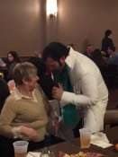 Elvis with Miss Patty