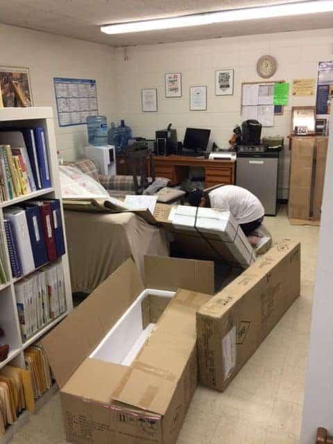 Ryan at work